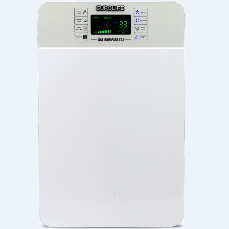 HEPA / Active Carbon Kitchen Sink Water Filter Air Purifier For Remove Virus / Improve PM2.5